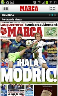 MARCA.com - screenshot thumbnail