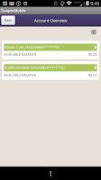 Screenshot of Sooper Mobile Banking App