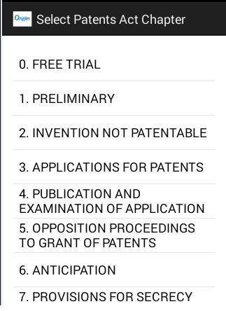 Indian Patent Exam Trial