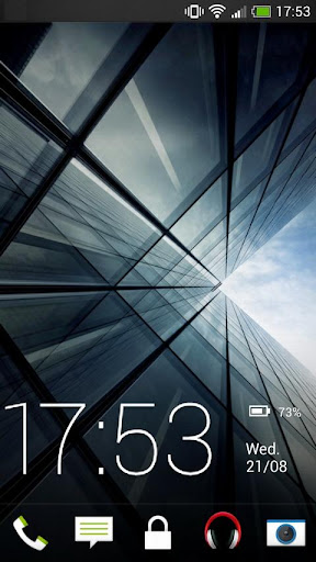 Sense 5 theme Go Locker