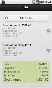 Sales Calculator For eCommerce screenshot 3