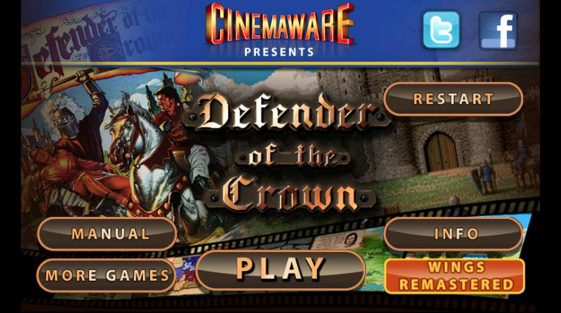 Defender of the Crown- screenshot