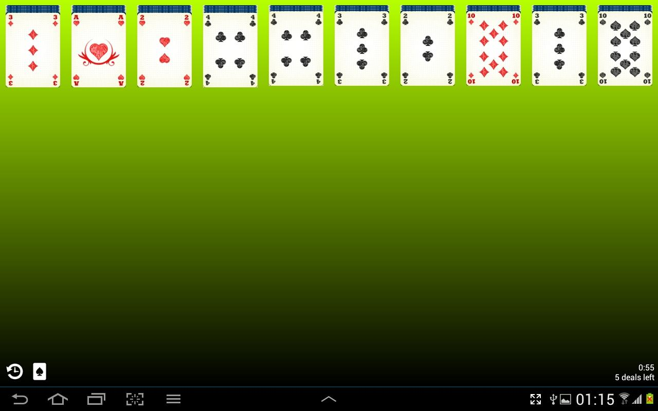 Spider Solitaire Free- screenshot