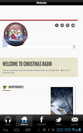 【免費音樂App】Christmas Radio-APP點子