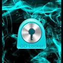 GO Locker Theme Blue Smoke icon
