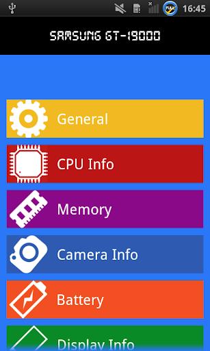 携帯電話の情報