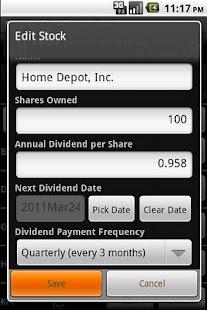 Dividend Predictor - Free- screenshot thumbnail