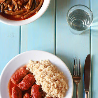 SoutzoukàKia - Cumin Flavored Meatballs in Rich Tomato Sauce Recipe