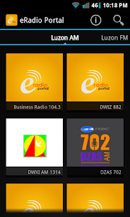 eRadio Portal- screenshot thumbnail