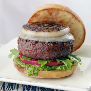Pesto Beef Burger