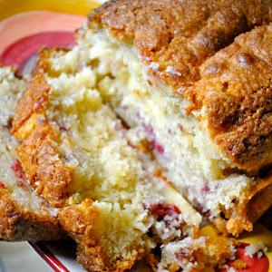 Raspberry Yogurt Bread