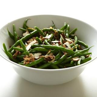 Mark Bittman's Green Beans with Crisp Shallots