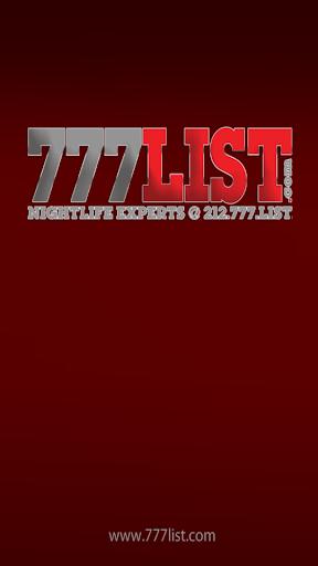 777LIST CONCERTS NIGHTCLUBS