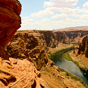 Water and Rock by William Stansbury - Landscapes Waterscapes ( water, desert, canyon, rock, river,  )