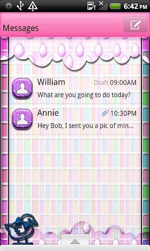 GO SMS THEME EasterEggHunt4U