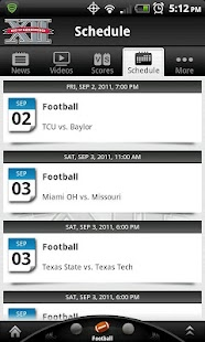 Big 12 Sports - screenshot thumbnail