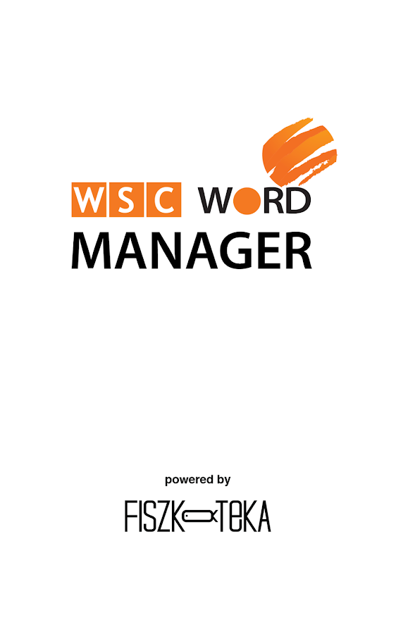 WSC Word Manager- screenshot