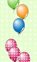 Screenshot of My baby Game (Balloon POP!)