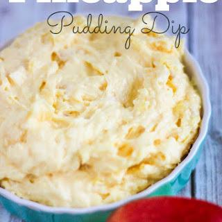 Pineapple Pudding Dip.