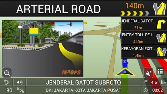 PAPAGO! GPS Navigation ID screenshot