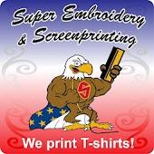 Super Embroidery Screen Print