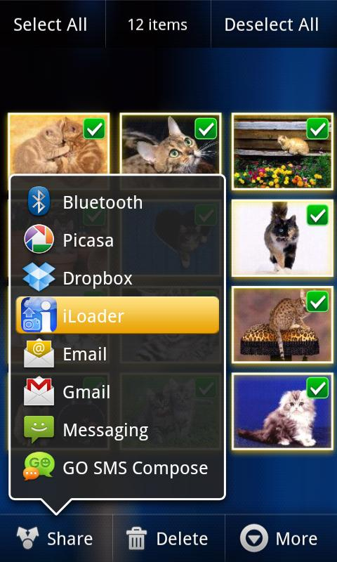 iLoader for Facebook Lite - screenshot