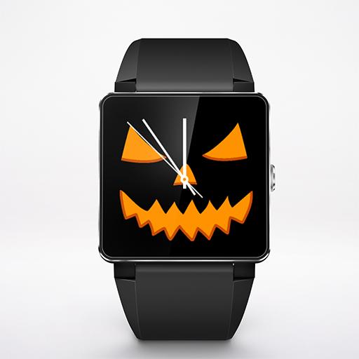 Jack-o-Lantern Watch Face Wear