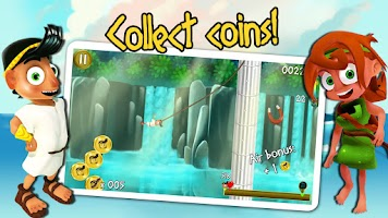 Screenshot of Rope Escape Atlantis