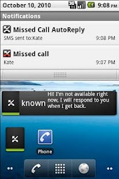 Missed Call AutoReply