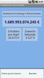 Germany´s National Debt Clock - screenshot thumbnail