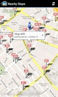 Screenshot of DaBus - The Oahu Bus App