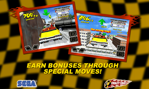 Crazy Taxi (International) - screenshot thumbnail