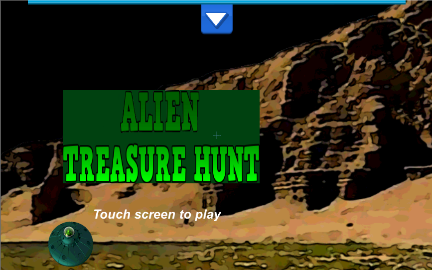Alien Treasure Hunt - screenshot
