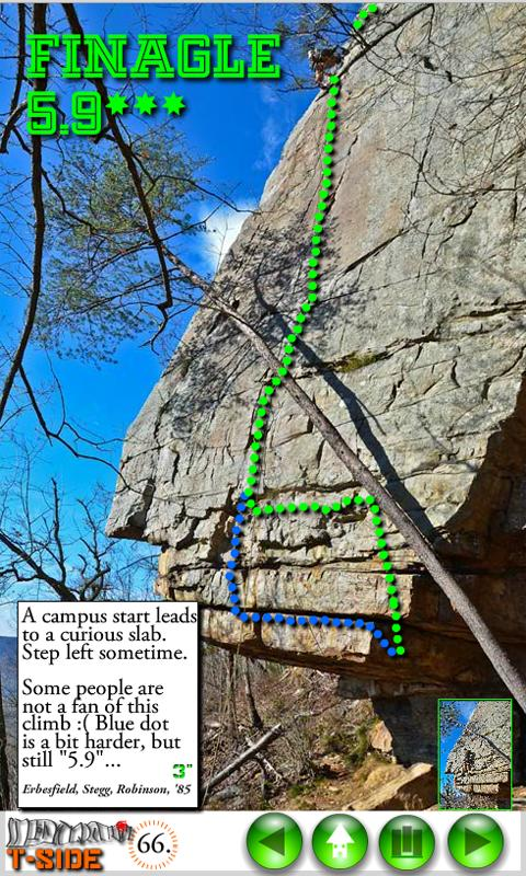 Climb Apps T Wall Right - screenshot
