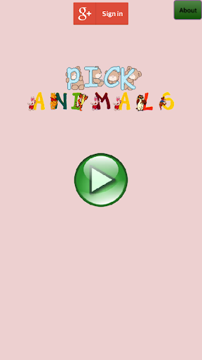 Pick Animals