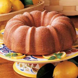 Glazed Lemon Bundt Cake.