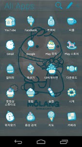 Molang IceCream Blue Atom screenshot 3