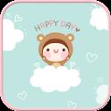 Bebe Happy Day go locker theme icon