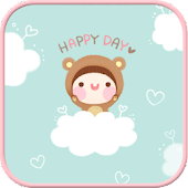 Bebe Happy Day go locker theme