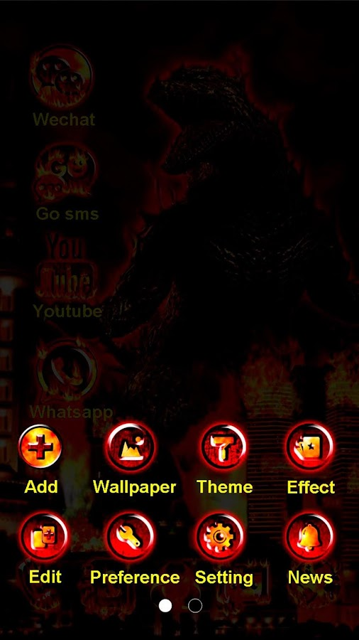 Giant Invader GO Theme- screenshot