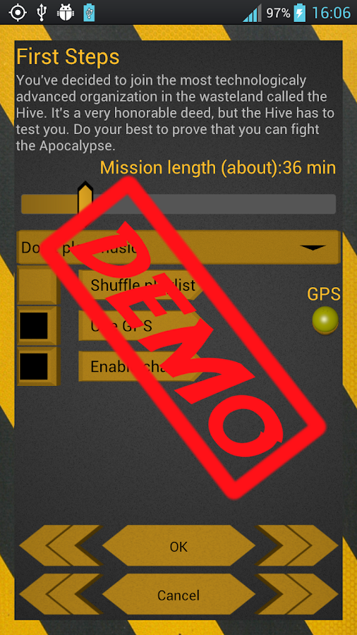 Apocalyptic Runner Lite - screenshot