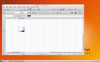Screenshot of QVD client Beta