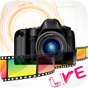 Live Camera With Space icon