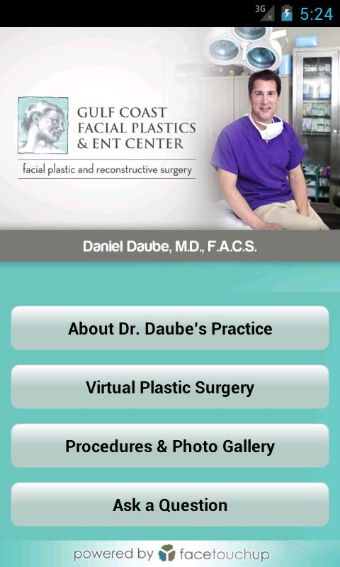 Gulf Coast Facial Plastics - screenshot