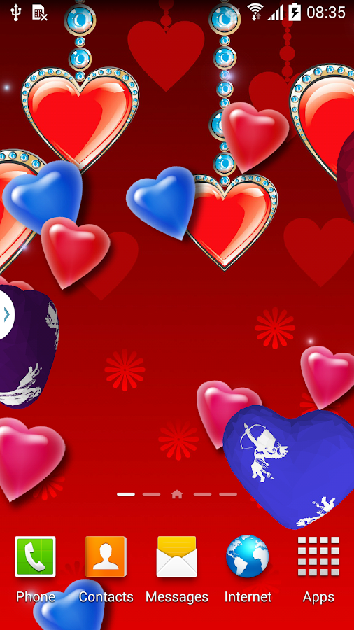 3d hearts live wallpaper free android apps on google play 3d apps free