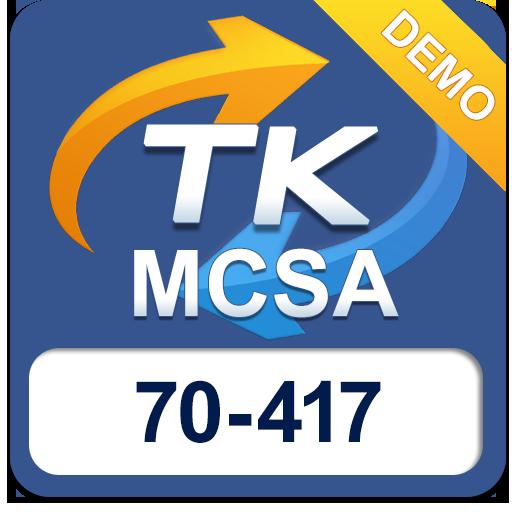 70-417 MCSA Demo LOGO-APP點子