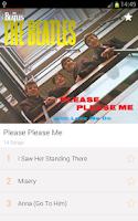 Screenshot of The Beatles Lyrics