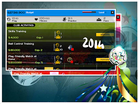 World Cup 2014 Soccer Manager 1.0 screenshot 52316