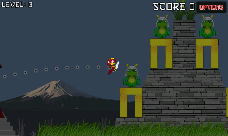 Ninja Bees (free)- screenshot