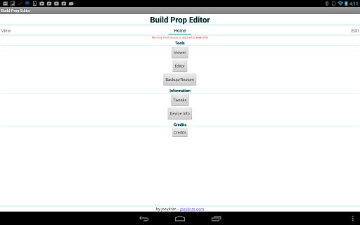 BUILD PROP EDITOR 1.1.9 СКАЧАТЬ БЕСПЛАТНО